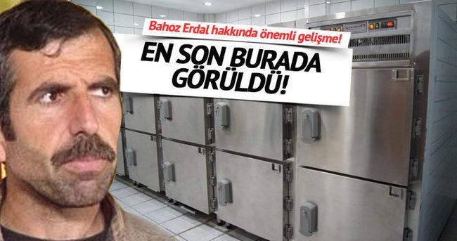 Bahoz Erdal'ın cesedi hastane morgunda!