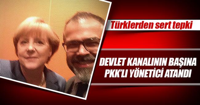 Alman devlet kanalının başına PKK'lı atandı
