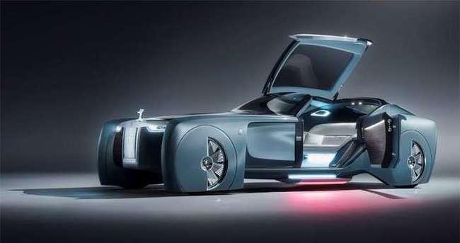Rolls-Royce yeni modeli VISION NEXT 100 ile şaşırttı!
