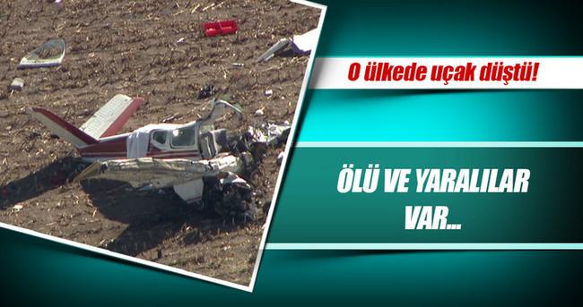 Slovenya'da küçük uçak düştü: 4 ölü