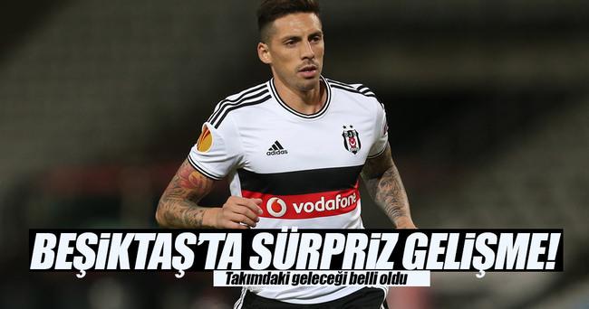 Beşiktaş'ta sürpriz gelişme!