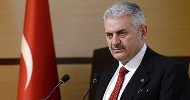 Başbakan Yıldırım, Aksakal'ı kabul etti