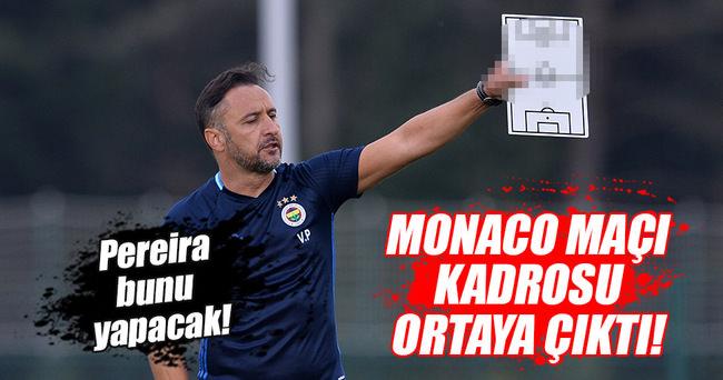 MONACO MAÇI ÖNCESİ FENERBAHÇE'DE BÜYÜK SORUN!