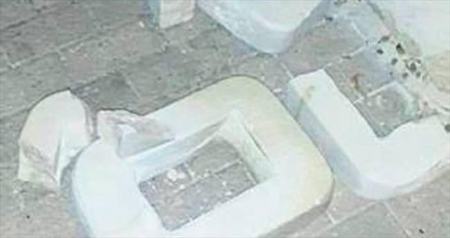 Silifke'de mermer heykeller kırıldı