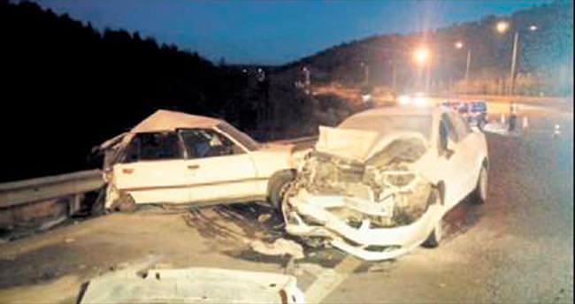 2 ayrı kazada 1 kişi öldü, 3 kişi yaralandı