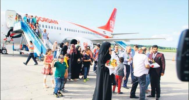 İlk Arap turist kafilesi Samsun'da