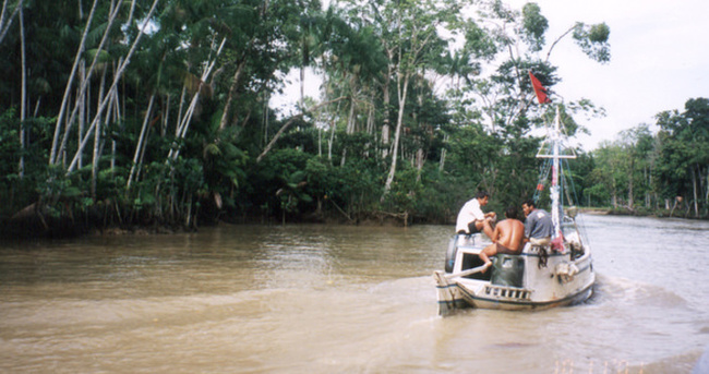 Amazon Nehri'nde silahlı soygun