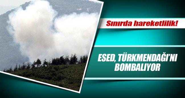 Esed, Türkmendağı'nı Bombalıyor