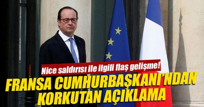 Fransa Cumhurbaşkanı Hollande'dan flaş açıklama