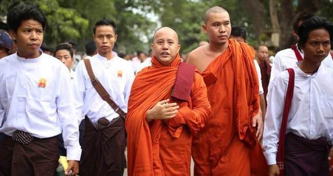 Myanmar hükümetinden Ma Ba Tha liderine kınama