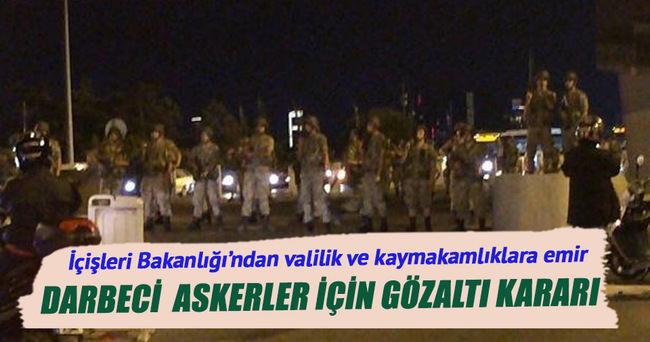 İstanbul Cumhuriyet Başsavcılığı'ndan gözaltı kararı