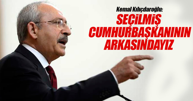 Kılıçdaroğlu: Yurttaşlarımızın özgür iradesine bağlıyız