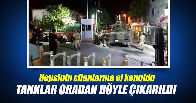 Çevik Kuvvet'teki askerler gözaltına alındı..