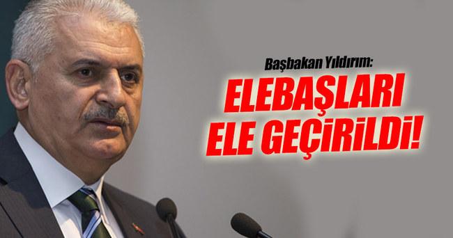 Başbakan Yıldırım: Elebaşları ele geçirildi!..