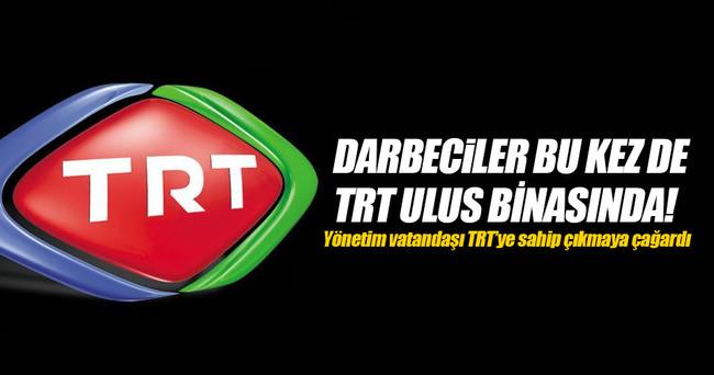 FETÖ'nün teröristleri TRT İstanbul binasını bastı