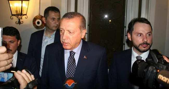Cumhurbaşkanı erdoğan: Sıkıysa memleketine gel