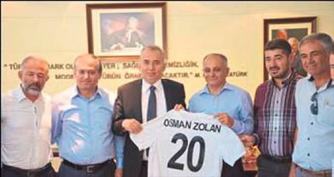 Denizlispor'dan Zolan'a ziyaret