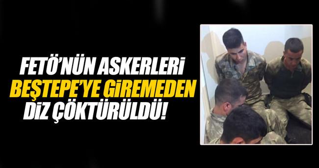 Beştepe'ye girmeye çalışan FETÖ'cü askerler gözaltında!
