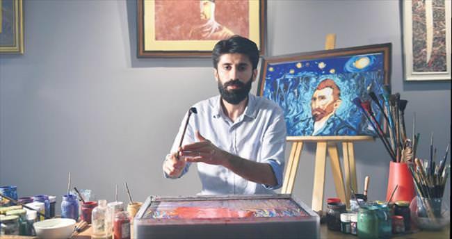 Siirtli Garip'ten arkadaşı Van Gogh'a sevg iler