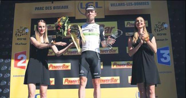 Fransa'da 14. etabı Cavendish kazandı