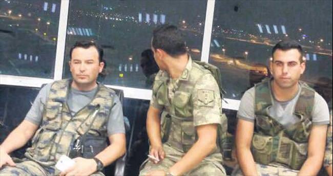 Darbeci askerin tatbikat yalanı