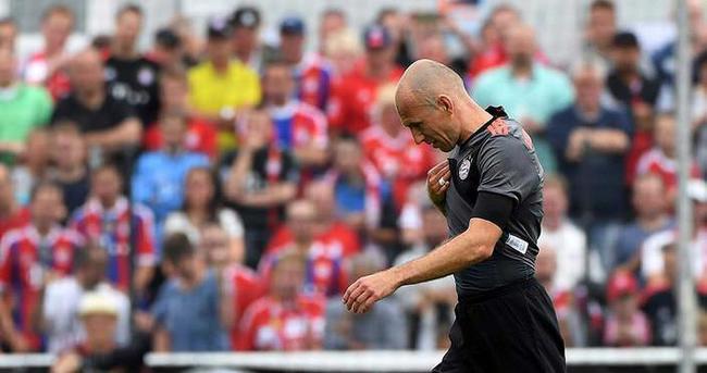 Bayern Münih'e Robben şoku