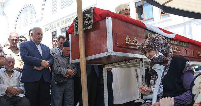 Başbakan Yıldırım, Ahmet Özsoy'un cenaze törenine katıldı