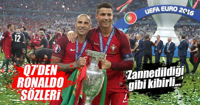 Quaresma'dan Ronaldo yorumu: Kibirli biri değil