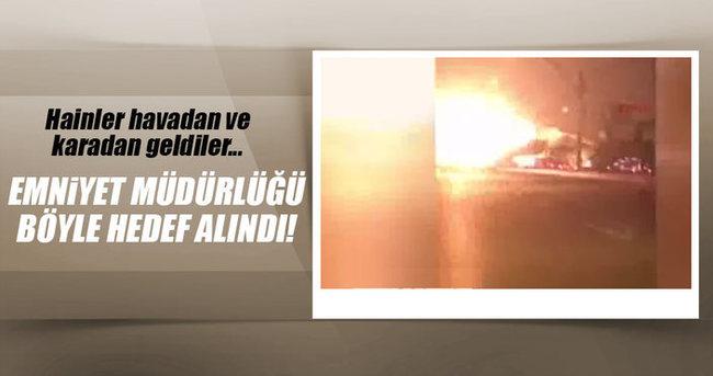 Ankara Emniyet Müdürlüğü'nün vurulma anı!