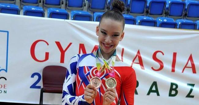 Altın Kız'dan 1 madalya daha