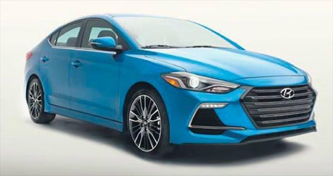 Hyundai'den sporcu Elantra