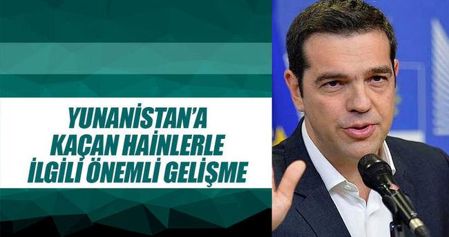 Yunanistan'a kaçan askerlerle ilgili önemli gelişme