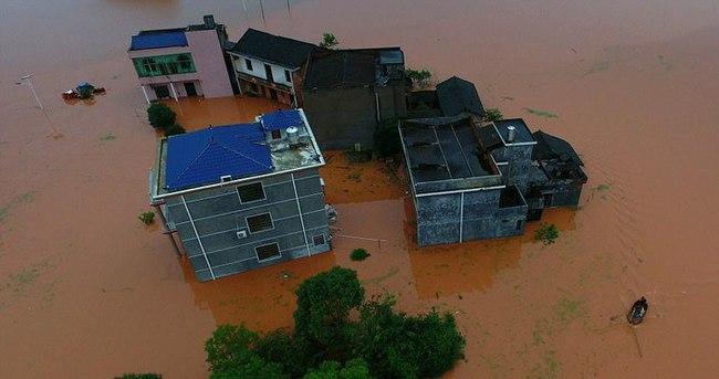 Çin'in Hunan eyaletinde felaket