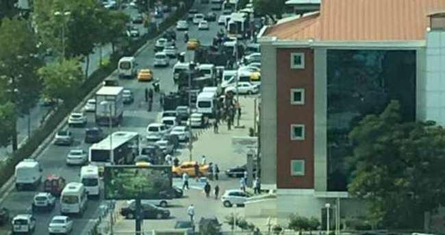 İstanbul Levent'te hareketlilik
