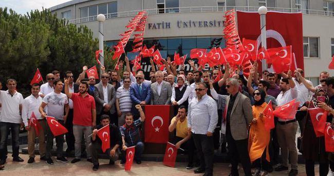 Fatih Üniversitesi'nden darbe girişimine tepki