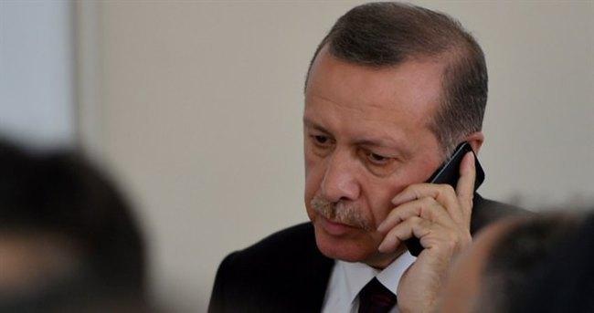 Cumhurbaşkanı Erdoğan, May ile görüştü
