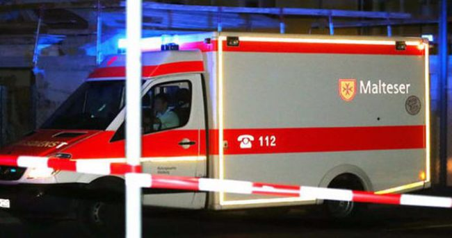 Almanya'da baltalı saldırı: Çok sayıda yaralı var