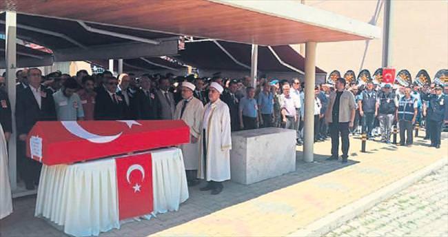 Burdur'da kahramana veda