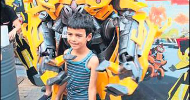 Mersin Forum'da Transformers sürprizi