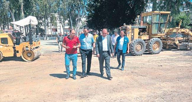 Ceyhan Belediyesi semt sahası çalışması