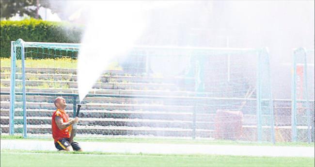 Sneijder'in keyfi yerinde