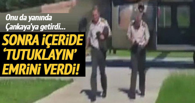 Tümgeneral Mehmet Dişli'yi Hulusi Akar yakalattı!