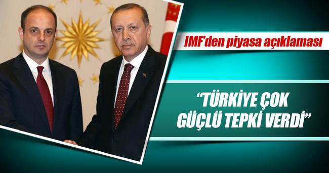 Türkiye'nin adımları piyasaları sakinleştirdi