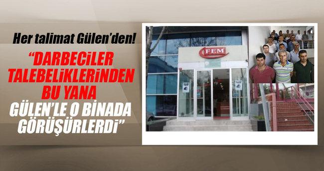 Darbeci askerler Gülen'le aracısız görüşürdü