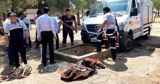 Kilis'te kaybolan çocuğun cesedi kuyuda bulundu