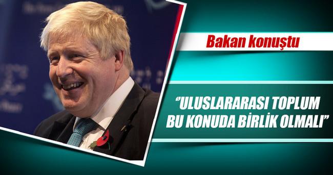 İngiltere Dışişleri Bakanı Johnson:
