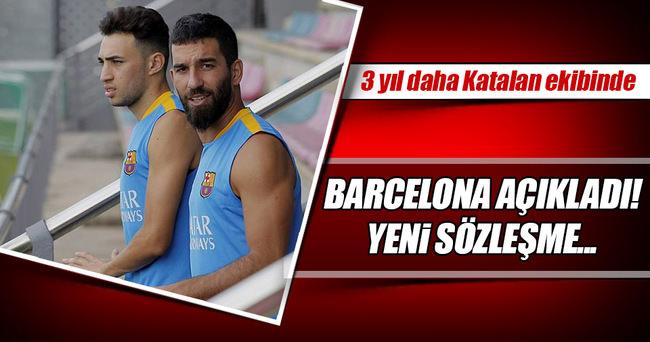 Barcelona Haddadi'nin sözleşmesini uzattı