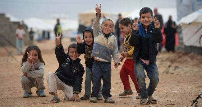 Lübnan'daki Suriyeli mülteci çocuklar