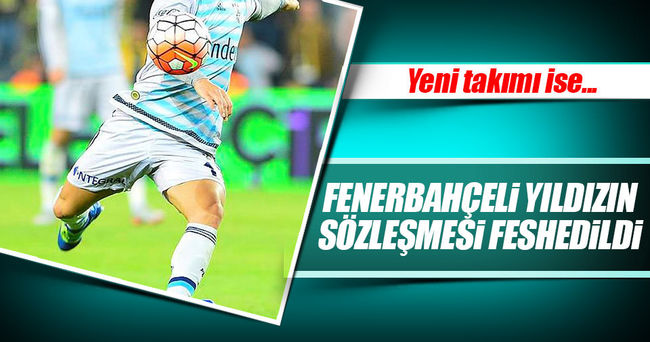 Fenerbahçe'de Diego'nun sözleşmesi feshedildi!