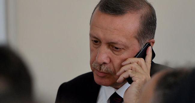 Cumhurbaşkanı Erdoğan Obama ile telefonda görüştü